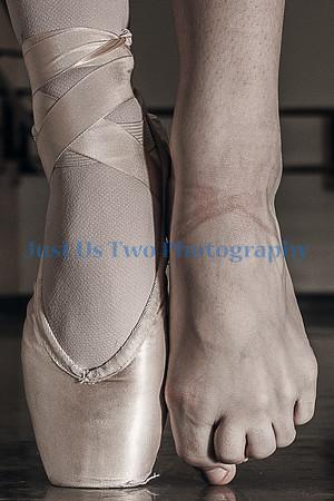 Pointe Shoe - Foot