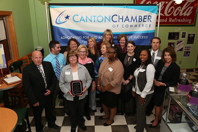 Cherry Brook Health Care Center was recently honored by the Canton Chamber of Commerce as its 2016 Business of the Year.  Photo by John Fitts