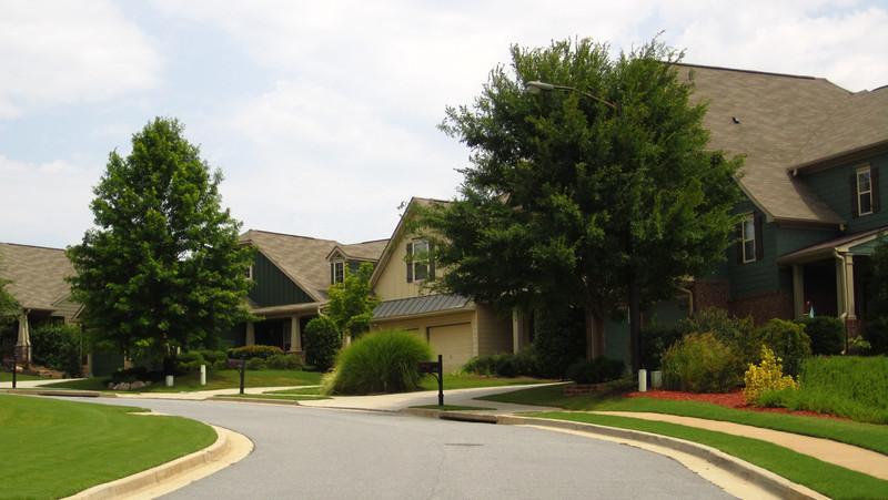 Bridgemill Canton GA Neighborhood Of Homes 049