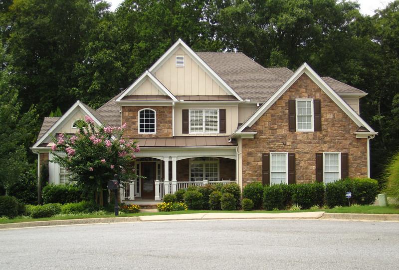 Bridgemill Canton GA Neighborhood Of Homes 076