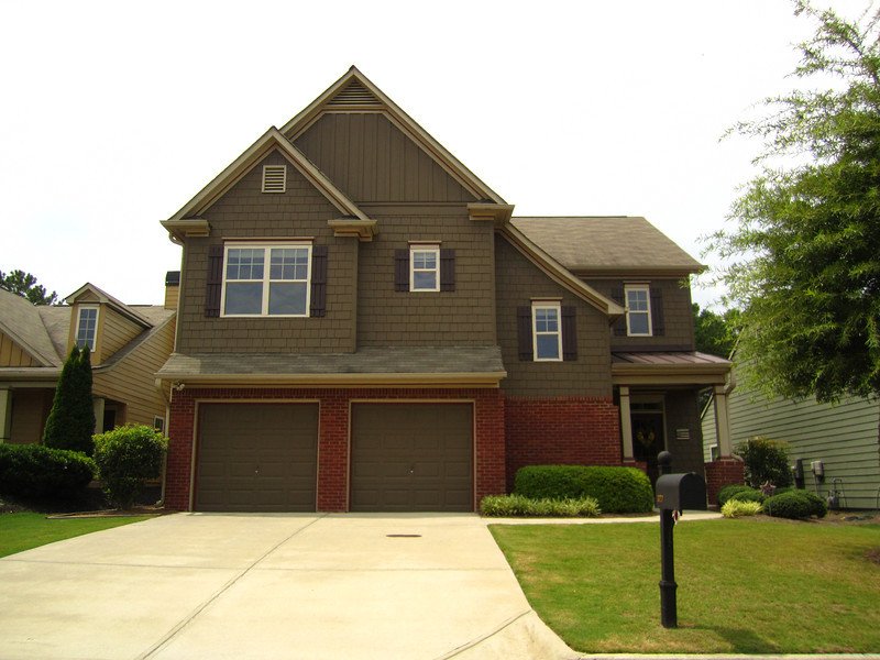 Bridgemill Canton GA Neighborhood Of Homes 050
