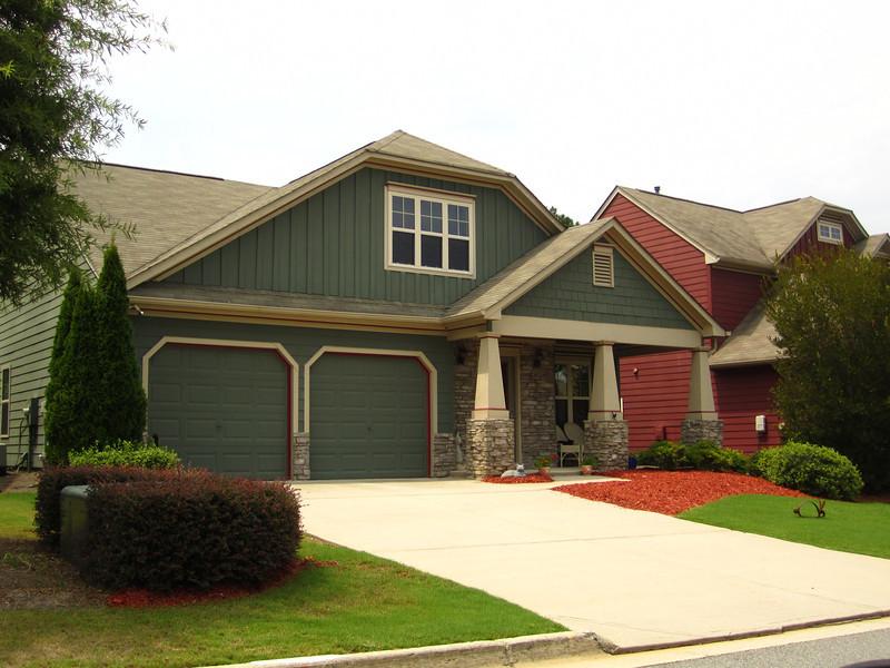 Bridgemill Canton GA Neighborhood Of Homes 051