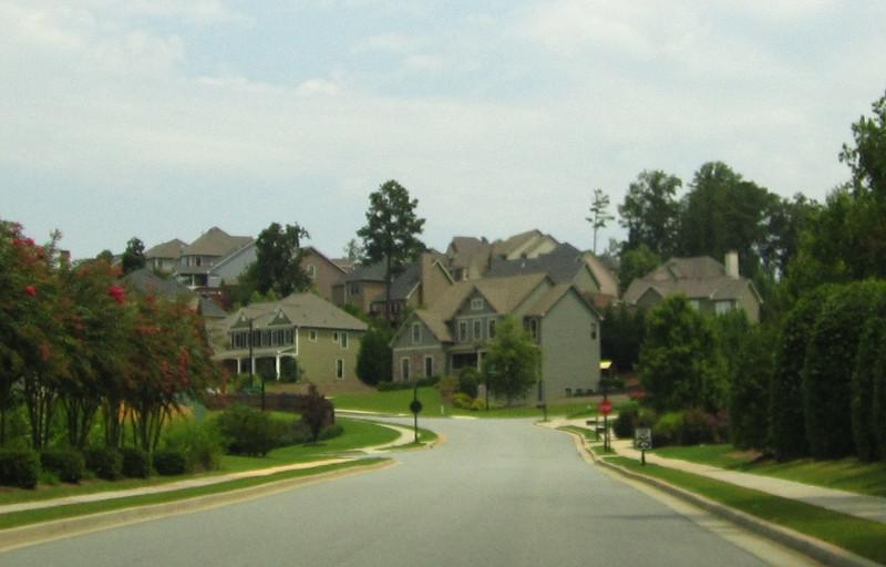 Bridgemill Canton GA Neighborhood Of Homes 046