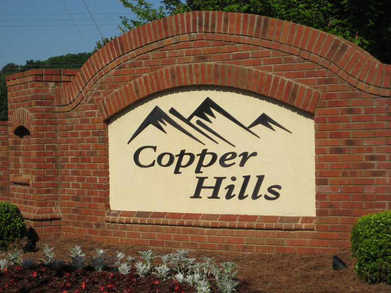 Copper Hills-Canton Georgia Neighborhood