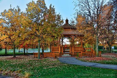 Heritage Park Canton Michigan Gazebo Fall