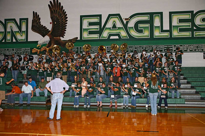 Pep Rally   Sept. 8/2006