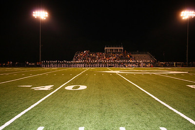 Canton vs Kaufman, Sept. 12, 2008