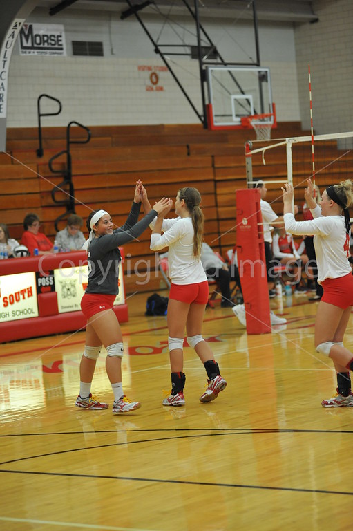 Canton South Volleyball 092916