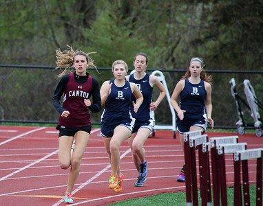 The Canton High School Track and Field team celebrated its seniors and swept the competition at its final home meet on Tuesday, May 3, 2016. See more at cantoncompass.com. Photos by John Fitts