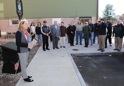 Canton Veterans Plaque Rededication