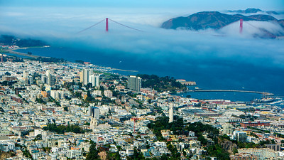 Coit Tower to the Golden Gate