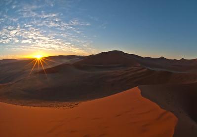 Namibian Sunburst 24 x 36