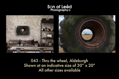 043 Thru the wheel Aldeburgh