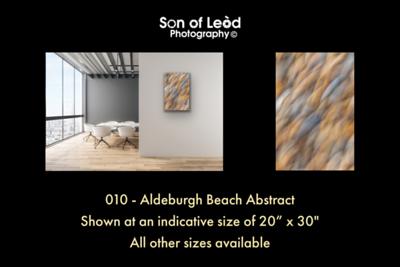 010 Aldeburgh Beach Abstract