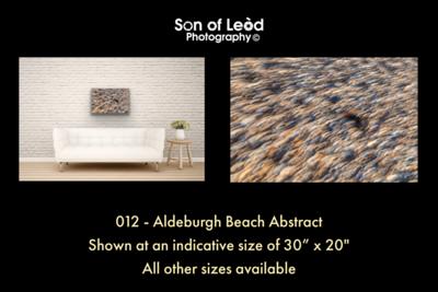 012 Aldeburgh Beach Abstract