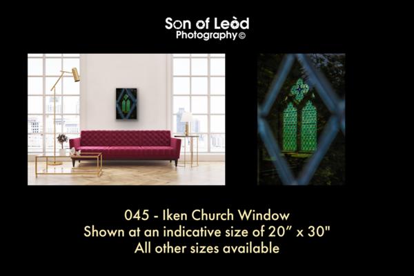 045 Iken Church Window