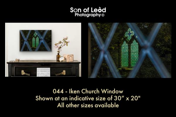 044 Iken Church Window