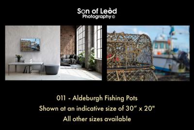 011 Aldeburgh Beach Fishing Pots