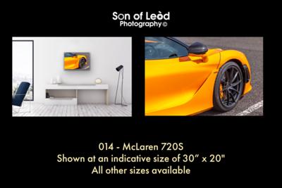 014 McLaren 720S