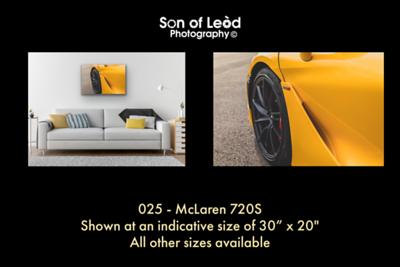 025 McLaren 720S