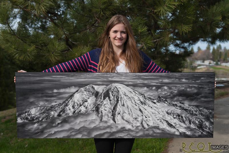 Rainier print