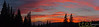 Sunset Pano wide