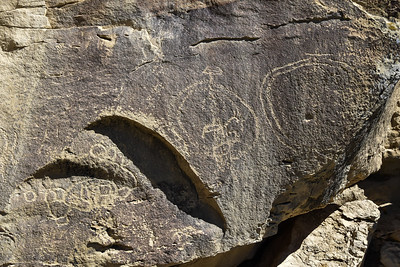 Not sure what these petroglyphs signified.