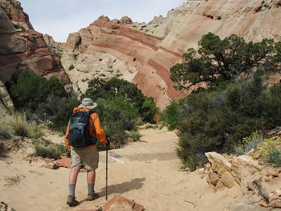 Into Headquarters Canyon.
