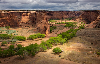 Farming in Canyon de Chelly