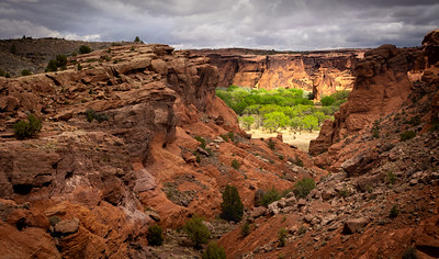 Storm Lighting in Canyon de Chelly