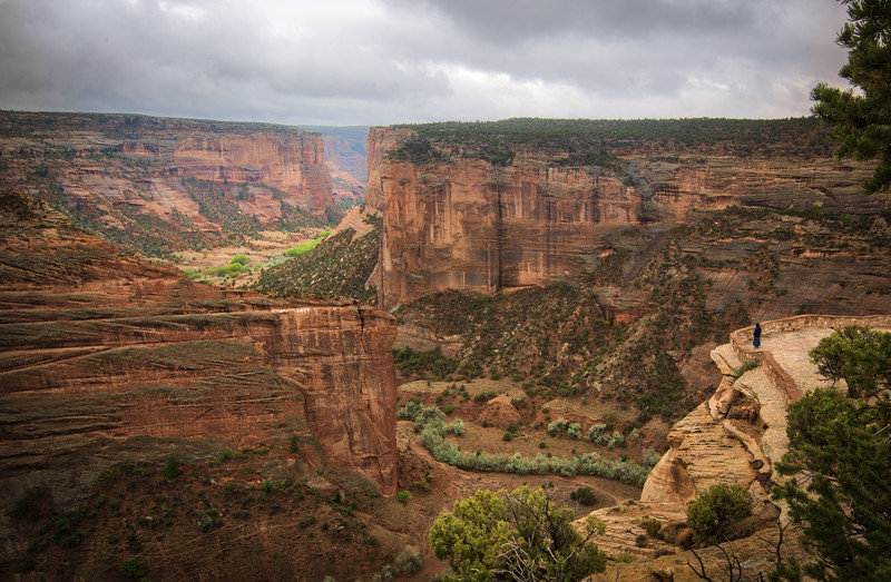 Canyon de Chelly overlook