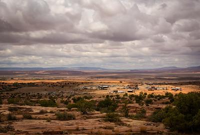 Navaho Settlement