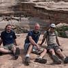 Dave, Ben Jeff, Doug in front of Sipapu Bridge