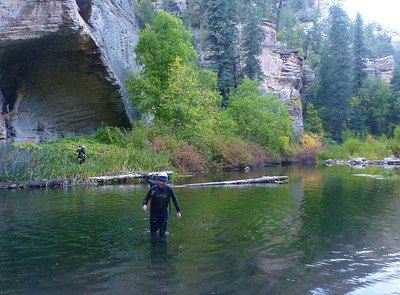 Bear Canyon - We ended up in West Clear Creek, which has a lot of water at times