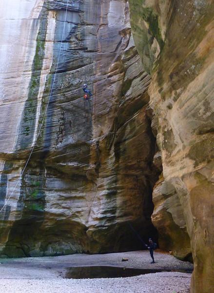 Sundance  - 180-foot free rappel