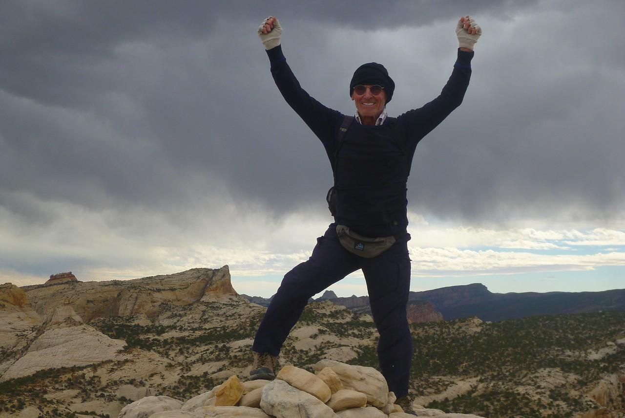Fern Nipple hike - Rich on top.