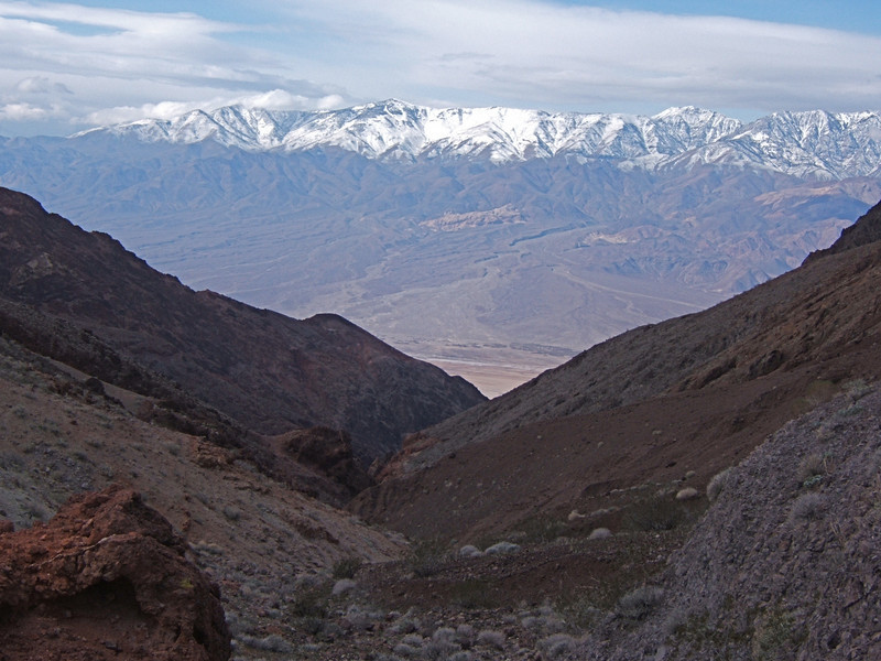 top of Styx Canyon