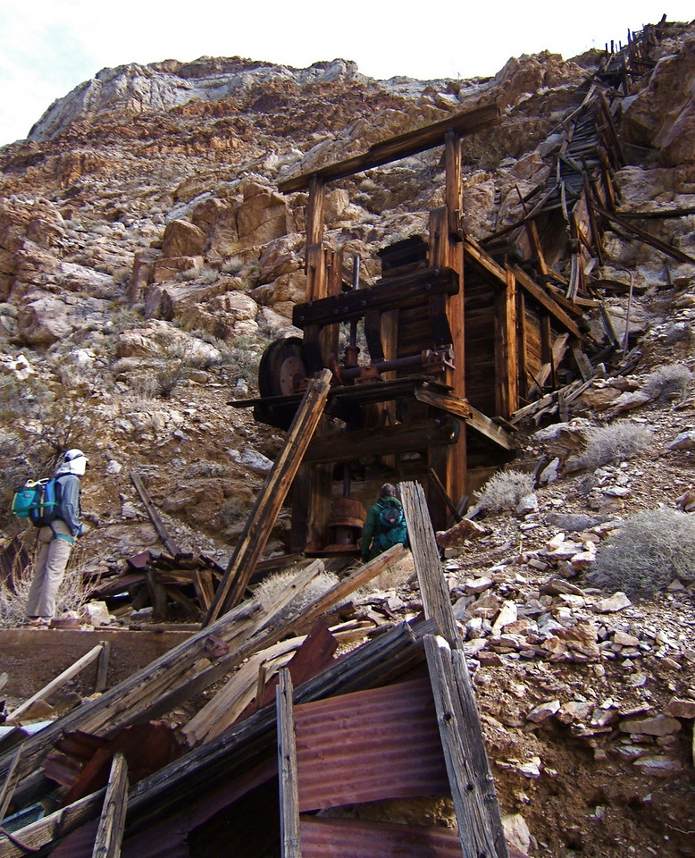Indian Mine, Monarch Canyon