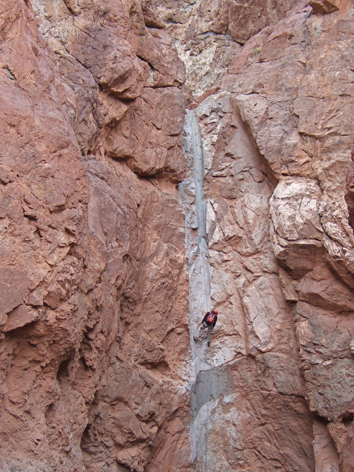 long rappel in Styx