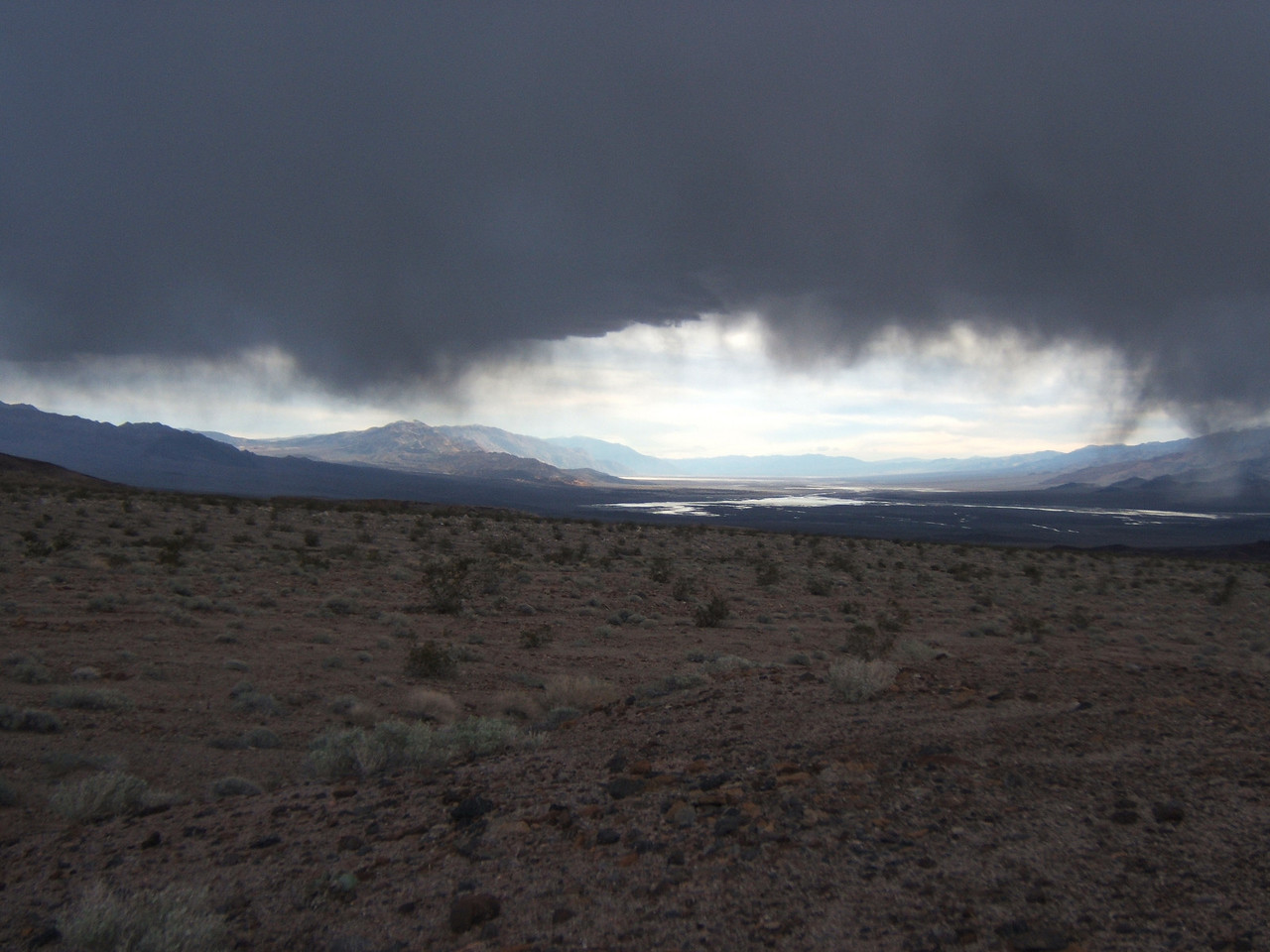 Storm over Badwater