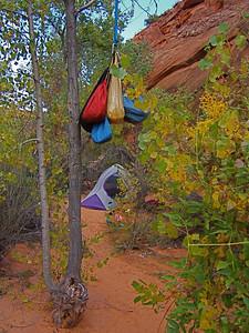 Camp, Fence Canyon