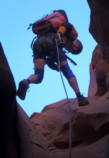 Day 3 - Shenanigans - the first rappel