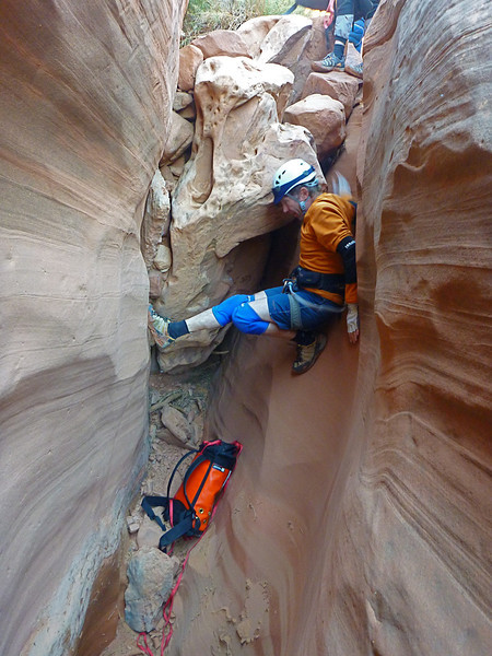Day 1 - Fooling Around - Still in the first set of narrows.