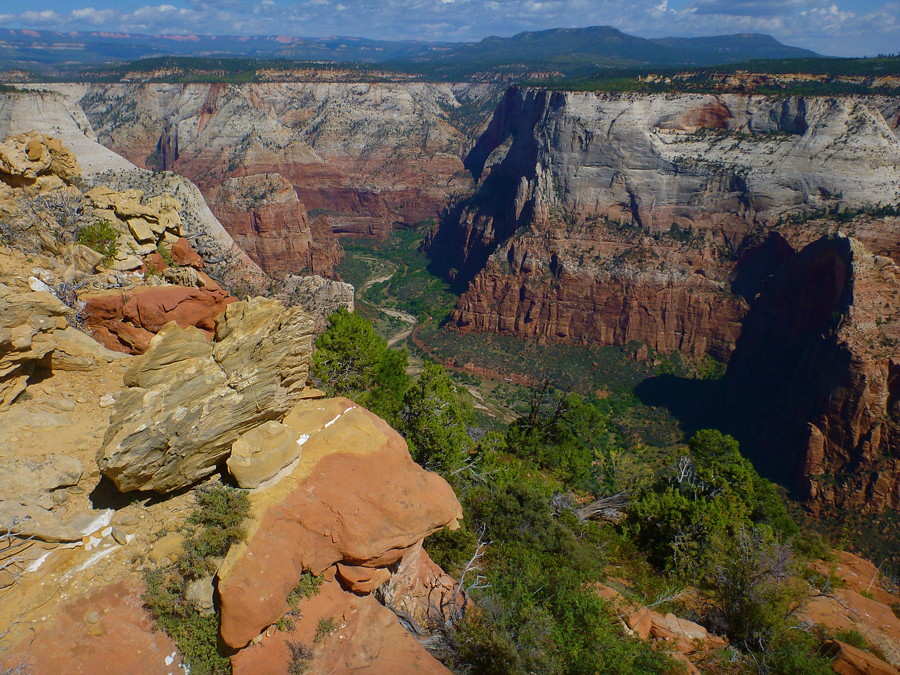 Lady Mountain Climb<br /> Zion Canyon from the top