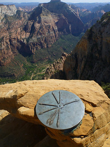 Lady Mountain Climb Zion Canyon from the top