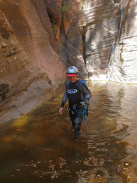 Russell Gulch Descent<br /> some wading but no swimming