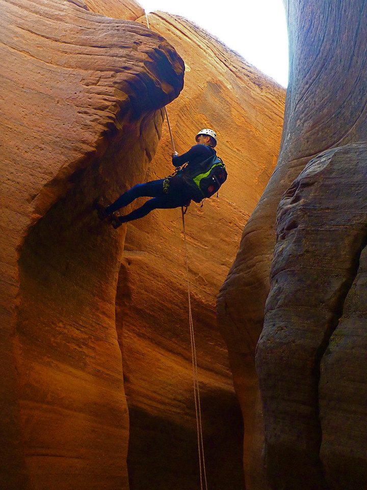 Fat Man's Misery Descent<br /> First rappel