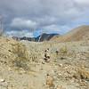 Walking past the ridge