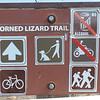 Horned Lizard Trail Sign