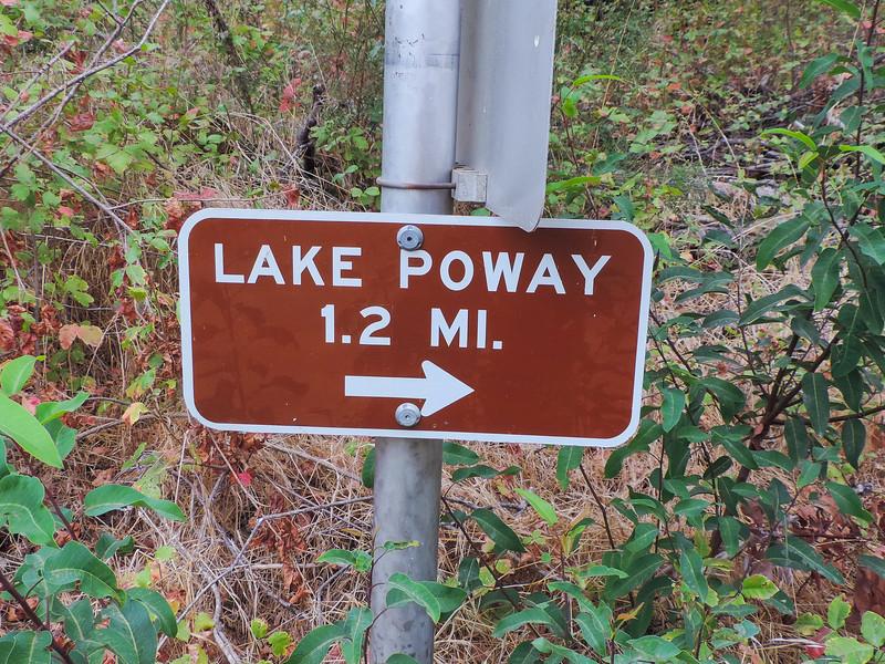 Up to Lake Poway